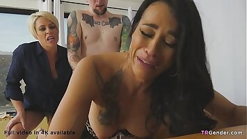 Crazy Wife Makes Her Husband To Have Sex With Trans Hooker